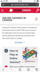 casinocanada.com mobile version