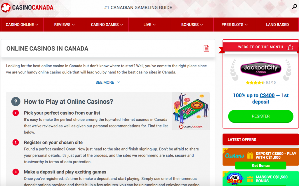 casinocanada.com pc version