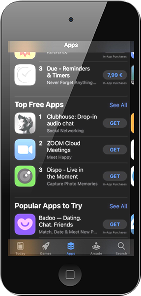 club house app iPhone